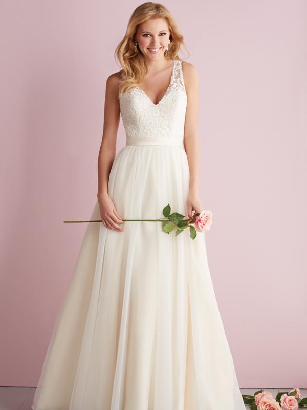 2716 Allure Romance Princess Line Wedding Dress