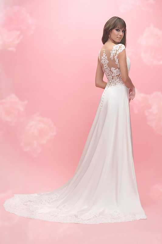3054 Allure Romance Modern Bridal Gown