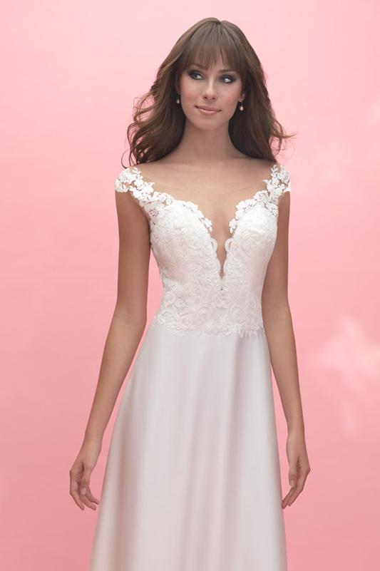 3054 Allure Romance Sheath Bridal Gown