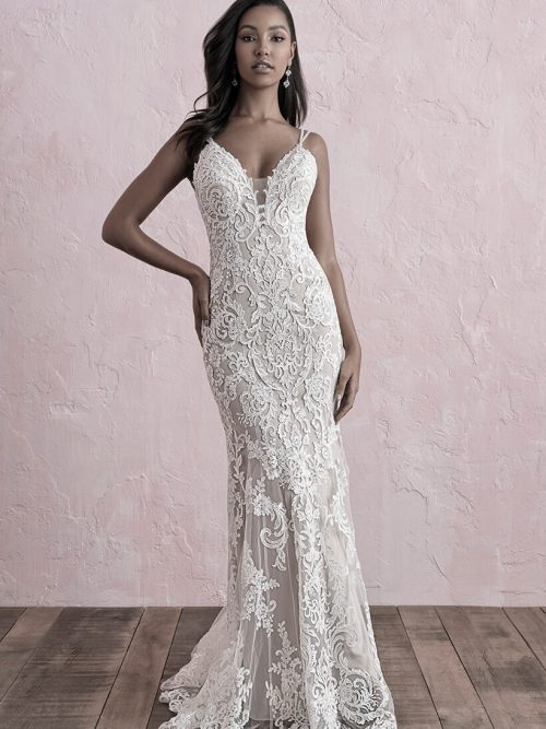 3269 Allure Romance Fit and Flare Bridal Gown