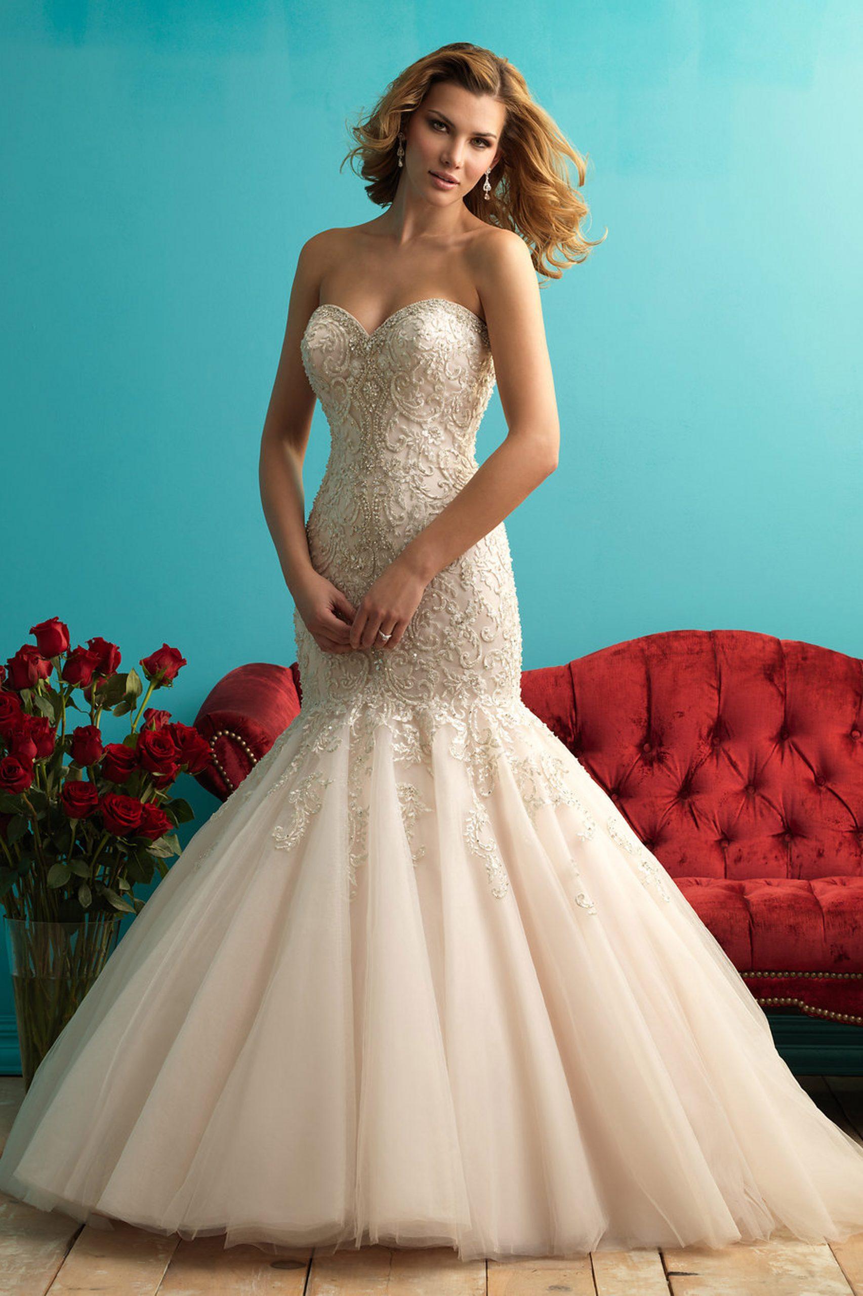 9275 Allure Bridals Bridal Gown