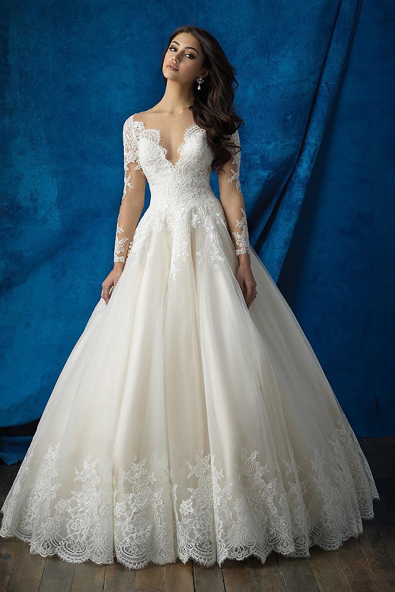 9366 Allure Bridals Wedding Dress