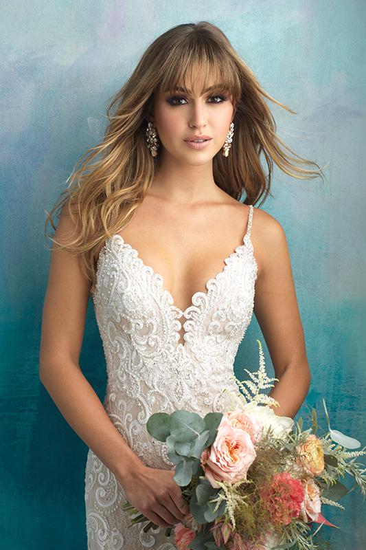 9501 Allure Bridals Elegant Wedding Dress