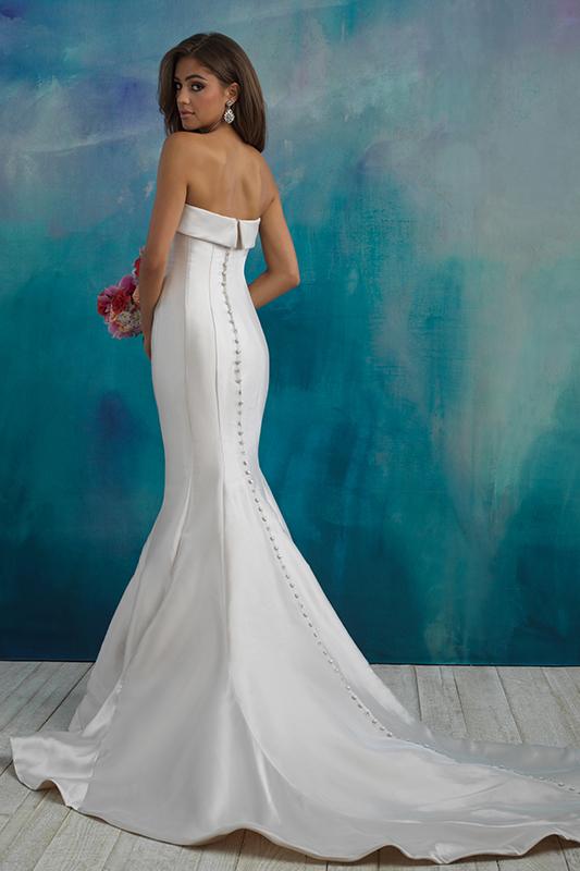 9514 Allure Bridals Sheath Wedding Dress