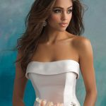 9514 Allure Bridals Modern Wedding Dress