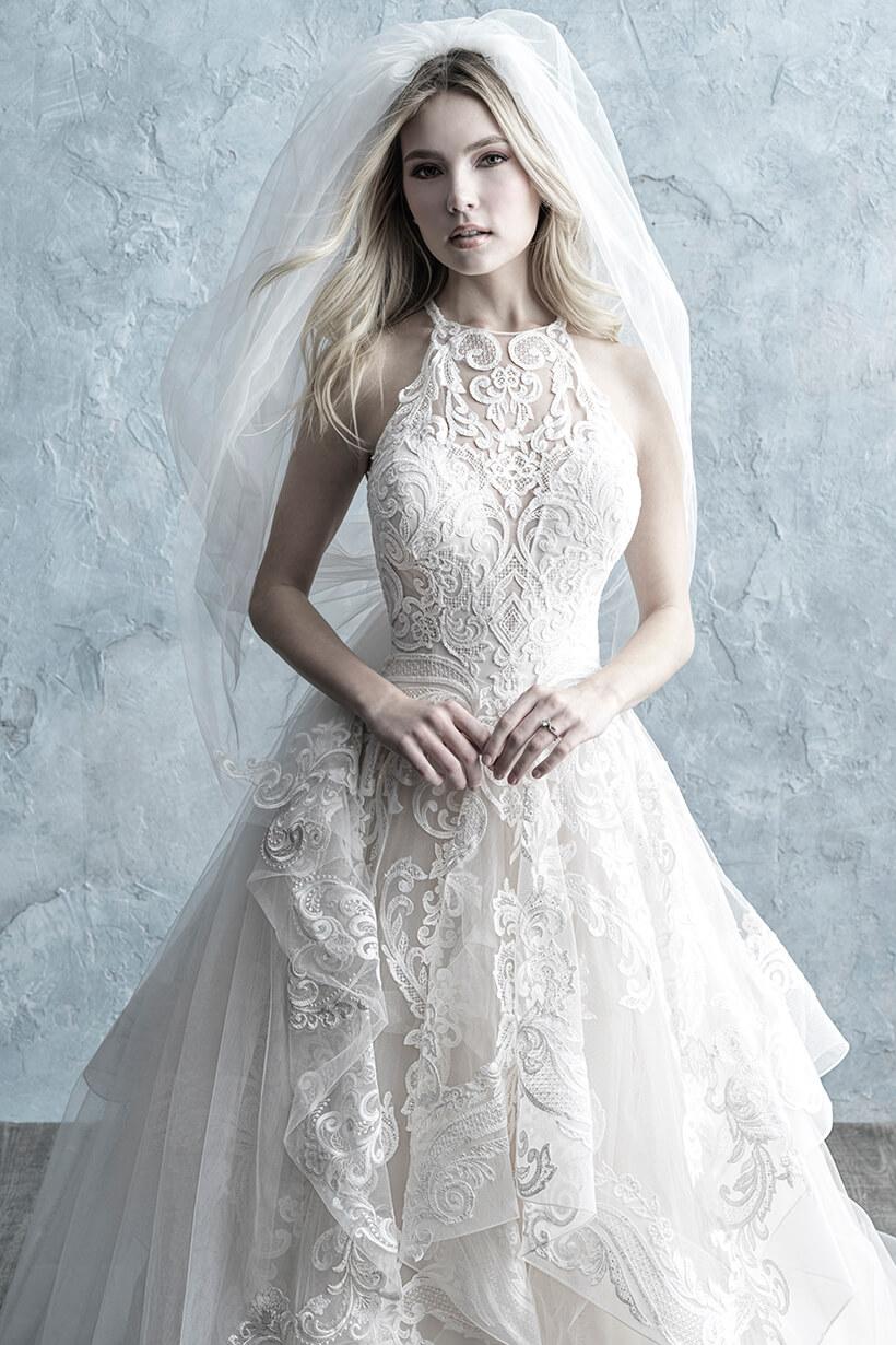 9652 Allure Bridals Modern Ballgown