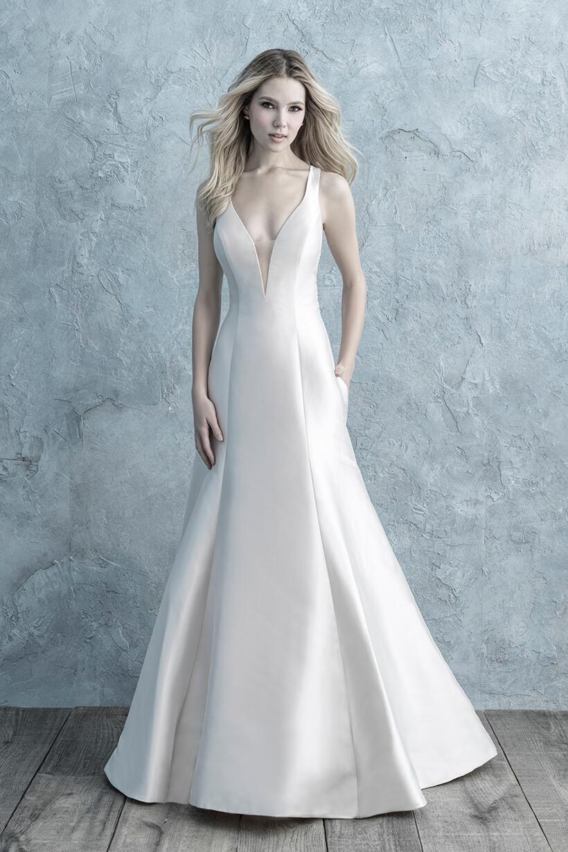 9662 Allure Bridals Sheath Wedding Dress