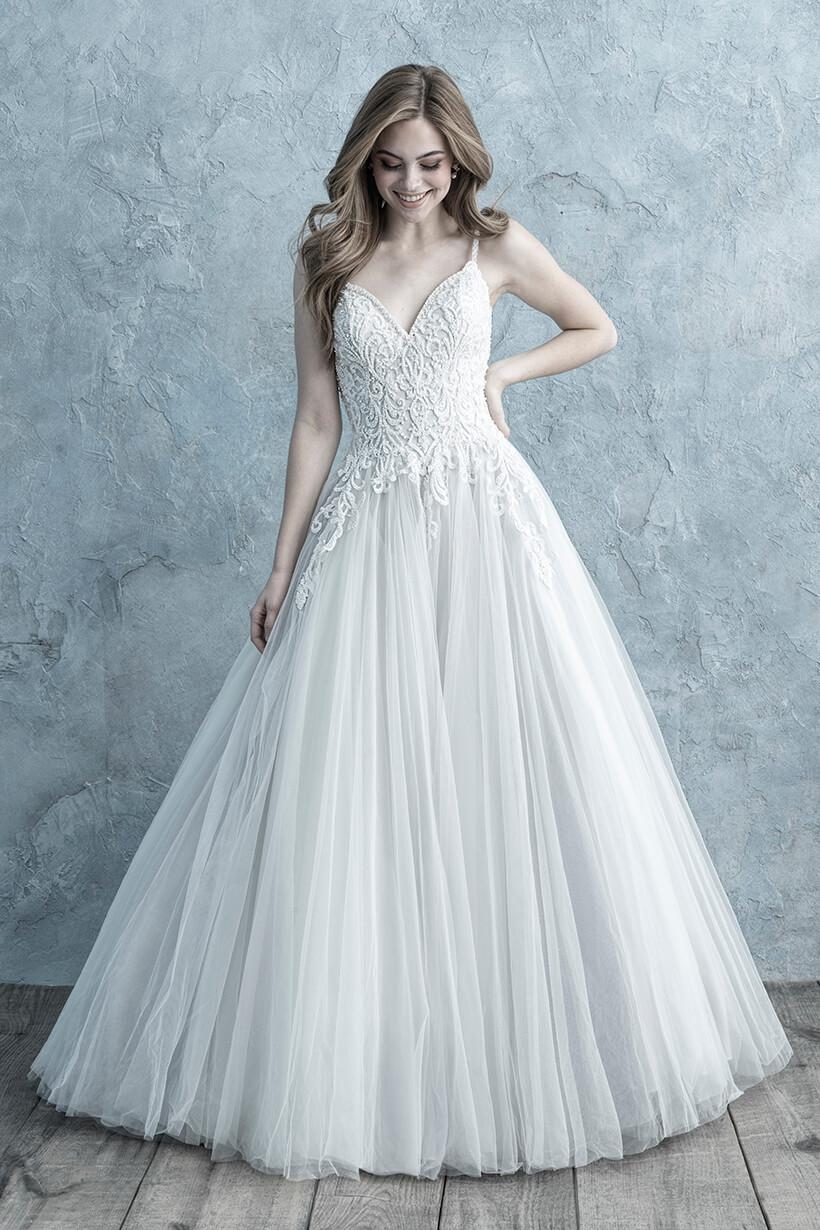 9667 Allure Bridals Elegant Wedding Dress