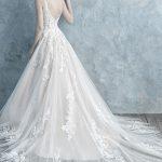 9679 Allure Bridals Floral lace