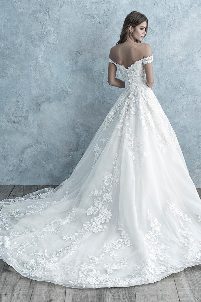 9681 Allure Bridals Elegant Ballgown