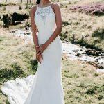 9712 Allure Bridals Symmetrical beaded