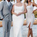 Allure Bridals Slim-Fitting Bridal Gown 9810