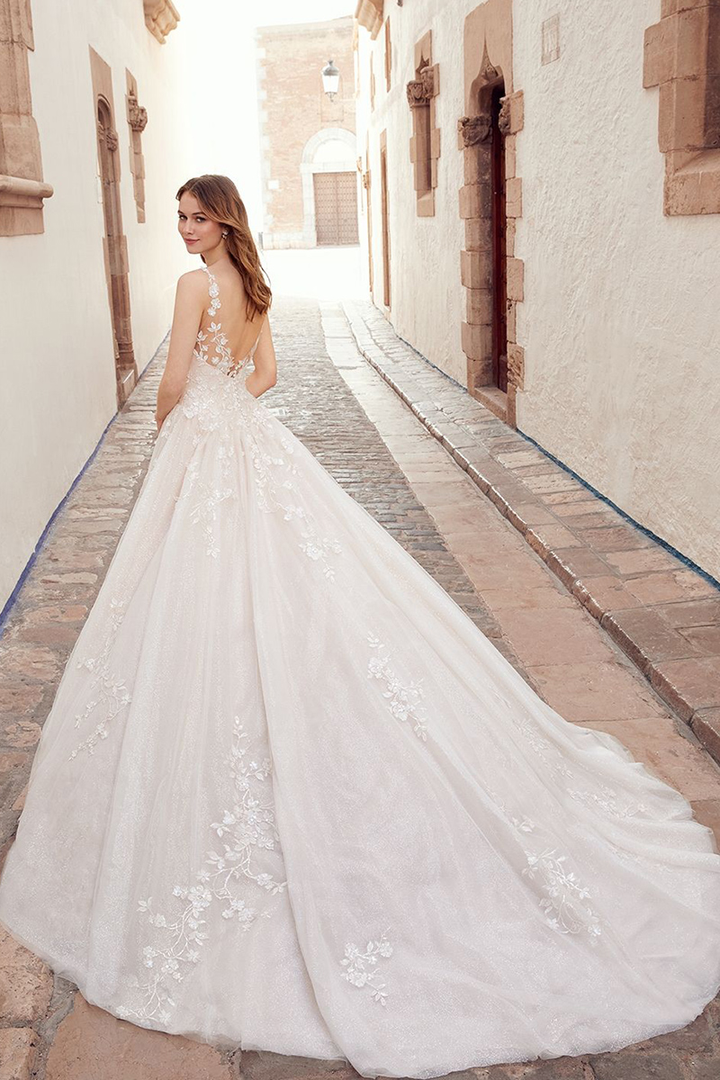E113 ABELLA by Allure Gorgeous sparkling tulle
