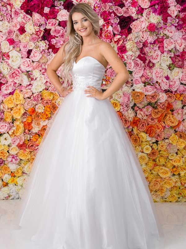Allure Debutante Gown G206