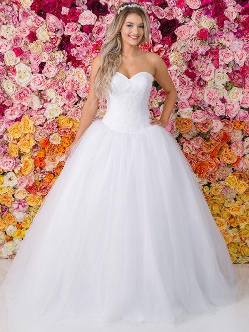 G221 Allure Debutante Gown