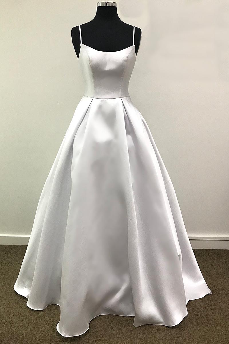Debutante Gown White