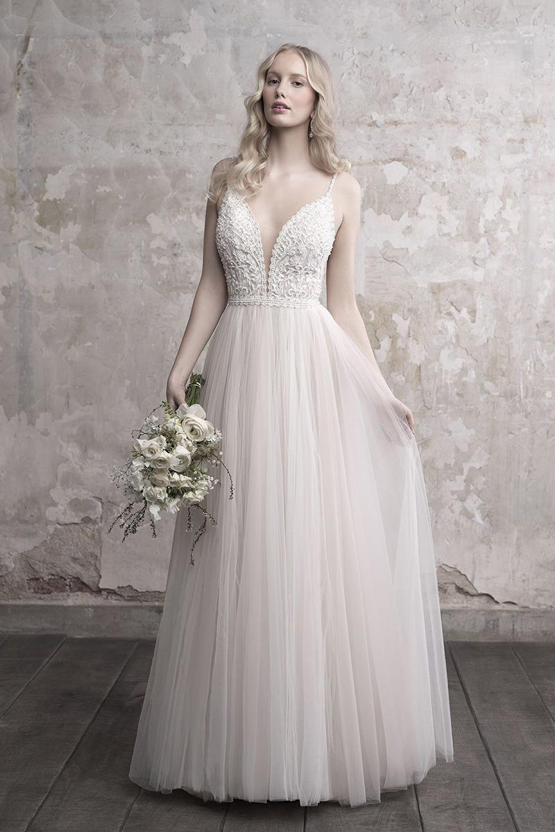 MJ456 Madison James A-Line Wedding Dres