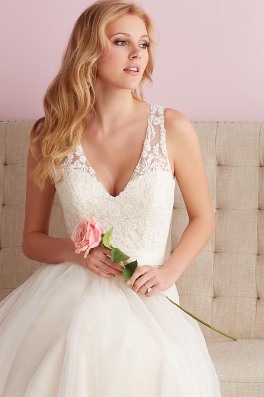 2716 Allure Romance Classic Princess Bridal Gown